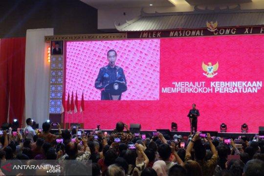 Presiden hadiri perayaan Imlek Nasional 2019