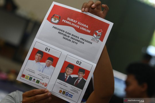 Jokowi-Ma'ruf unggul di Frankfurt