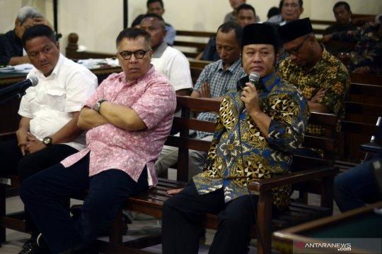 Anjar Asmara bersaksi kasus korupsi fee proyek Lampung Selatan
