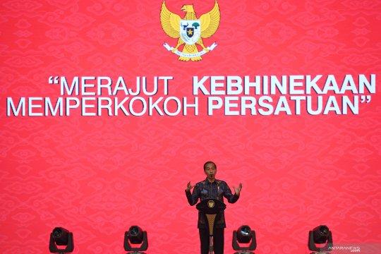 Presiden Jokowi hadiri peringatan Imlek nasional