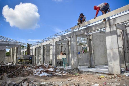 Pembangunan sekolah rusak pascagempa Lombok