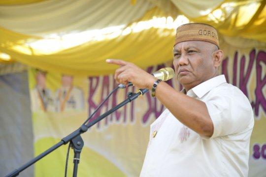 Gubernur Gorontalo ajak warga Boalemo ramai-ramai ke TPS