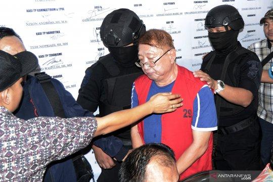 Eksekusi buronan kasus korupsi Rp108 miliar