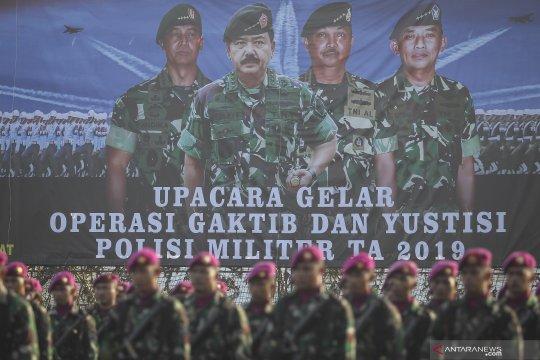 Upacara Operasi Gaktib dan Yustisi 2019
