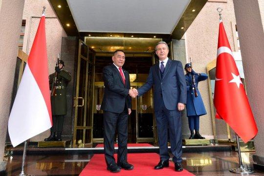 Menhan : Hubungan diplomatik RI-Turki sangat penting
