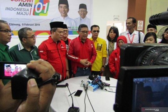 Hasto: KIK kompak menangkan Jokowi-Ma'ruf di Jawa Barat