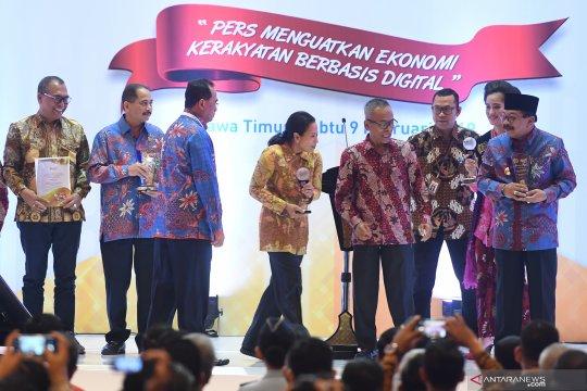 PWI bakti sosial bagikan sembako peringati Hari Pers Nasional