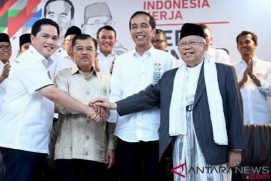 Jokowi-Ma`ruf ditargetkan menang 70 persen di NTB