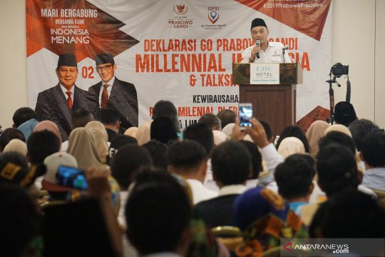 """Go Prabowo Sandi"" deklarasi di Kuala Lumpur"