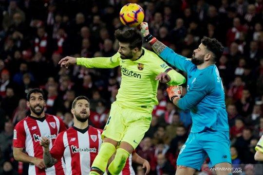 Barcelona bermain imbang di kandang Athletic Bilbao