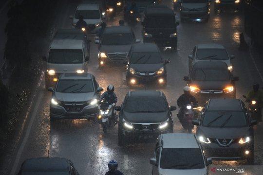 Jakarta pada Minggu berpotensi diguyur hujan lebat