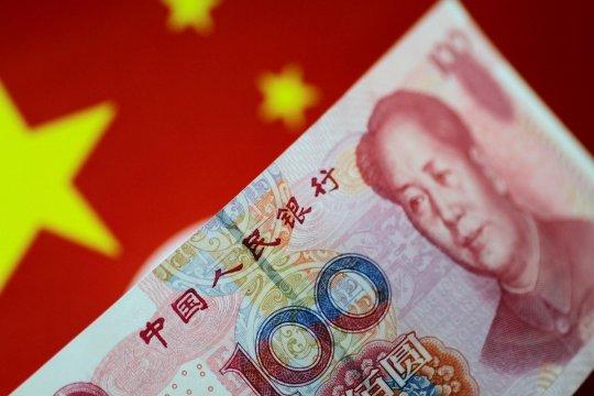Yuan China melemah 414 basis poin terhadap dolar as