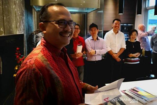 Dubes RI Singapura yakinkan investor untuk tanamkan modal