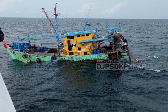 KKP kembali tangkap kapal perikanan ilegal berbendera Malaysia