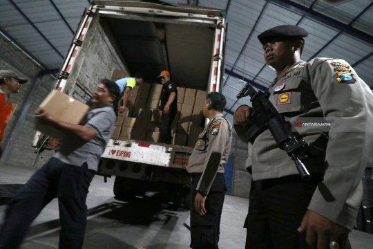 Polisi siap kawal pendistribusian logistik pemilu