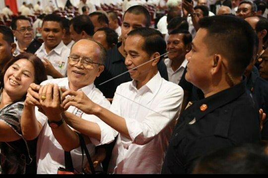 Dukungan purnawirawan TNI/Polri ke Jokowi-Ma'ruf perkuat persepsi publik