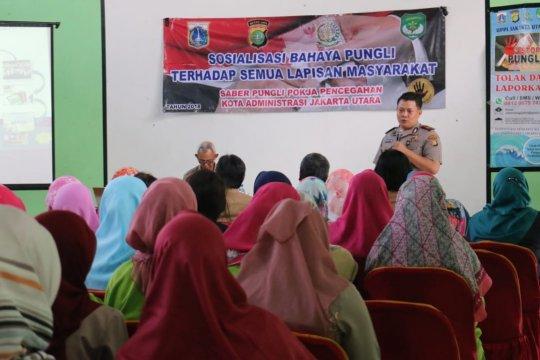 Tim Saber Pungli Jakarta Utara beri penyuluhan kepada guru
