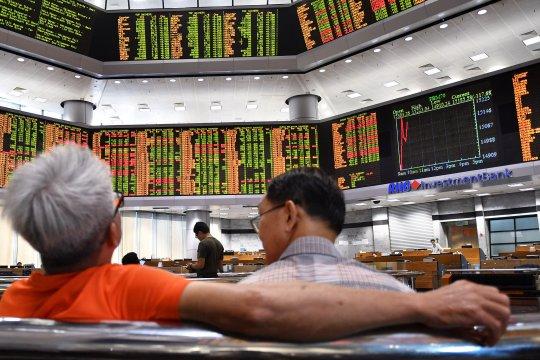 Bursa saham Malaysia ditutup naik tipis