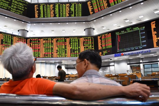 "Saham Malaysia ""rebound"", indeks KLCI berakhir melonjak 1,22 persen"