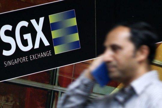 Bursa saham Singapura menguat, Indeks Straits Times ditutup naik 0,12