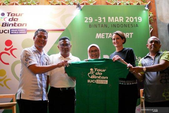 Sekitar 1.200 pesepeda akan ramaikan Tour de Bintan 2019