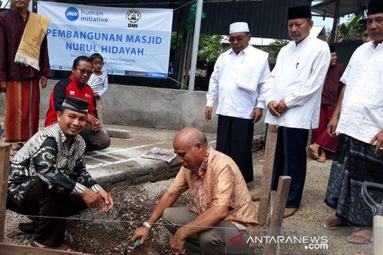 Human Initiative dan DMI dirikan masjid di daerah terdampak bencana