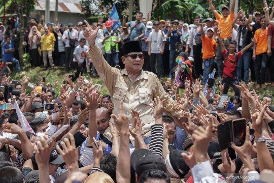 Prabowo Subianto janji akan pimpin pemerintahan yang antikoruptor