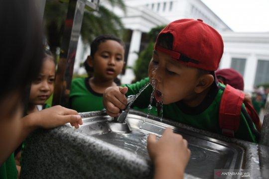 Pipa pecah picu gangguan distribusi air Palyja menuju Penjaringan