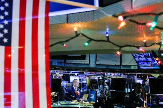 Wall Street  menguat tajam, kekhawatiran penutupan pemerintahan AS berkurang