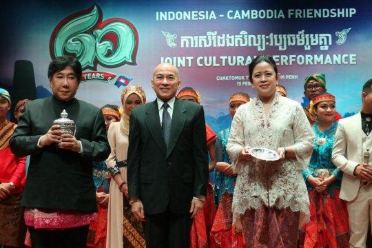 Puan Maharani mengapresiasi Pagelaran Budaya 60 Tahun Hubungan Diplomatik Indonesia-Kamboja