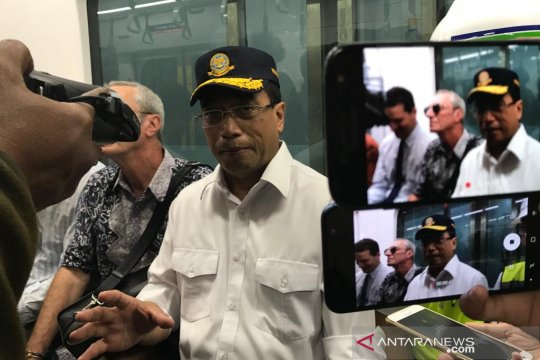 Menteri Perhubungan minta siapkan angkutan pengumpan dan TOD MRT