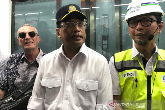 Tarif MRT Jakarta Rp8.500, Menhub: masuk akal