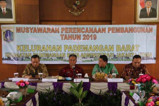 57 persen usulan Musrenbang Pademangan Barat diteruskan ke tingkat kecamatan