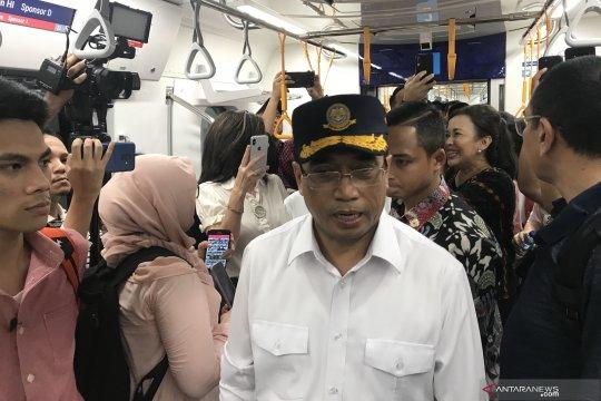 Menhub tinjau MRT Jakarta