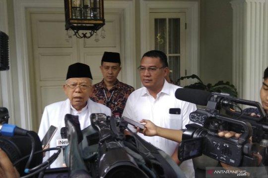 Ma'ruf Amin ingin jenguk Ani Yudhoyono