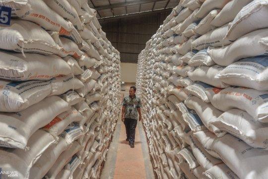 Bulog Jateng jamin stok beras aman sampai Lebaran