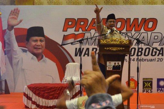 Kampanye Prabowo di Grobogan
