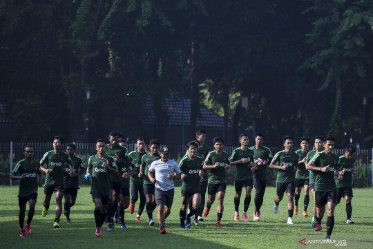 Latihan timnas U-22 Indonesia