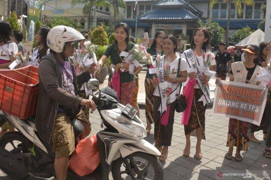 """KPU Badung manfaatkan """"Hari Valentine"""" sasar generasi milenial"""