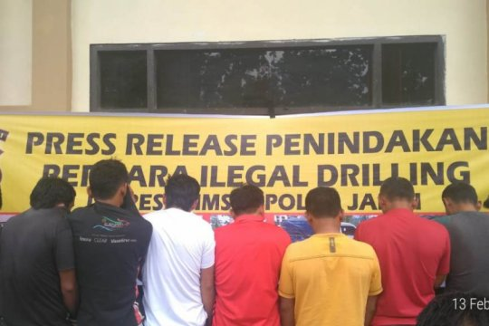 "Kapolda Jambi: pelaku ""illegal drilling"" harus hentikan aktivitas"