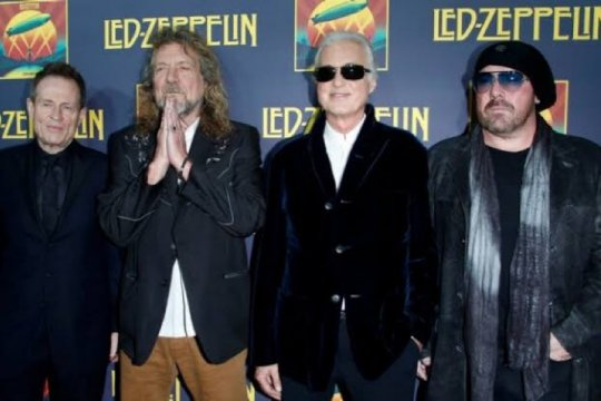 Led Zeppelin kolaborasi dengan Vans rilis sepatu dan kaus