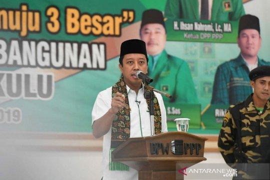 Romahurmuziy menggarap daerah yang Jokowi kalah pada Pilpres 2014