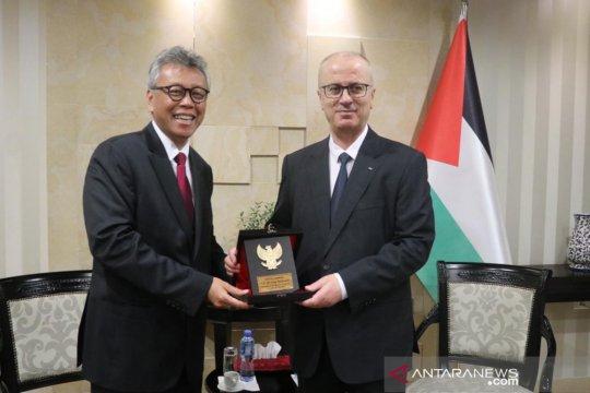 Lawatan resmi pertama dubes RI ke Ramallah, bahas penguatan kerja sama Indonesia-Palestina