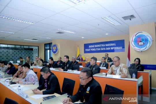 Indonesia-Kolombia siap saling dukung penanggulangan narkoba