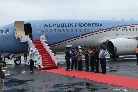 Presiden tiba di Bengkulu hadiri Tanwir Muhammadiyah