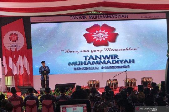 Di hadapan Jokowi, peserta Tanwir Muhammadiyah dilarang berfoto dengan aksi jari