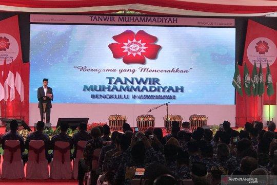 Jokowi berterima kasih pada Muhammadiyah telah lahirkan banyak tokoh bangsa