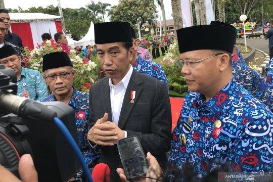 Jokowi sebut beragama yang mencerahkan ala Muhammadiyah sesuai kehendak rakyat