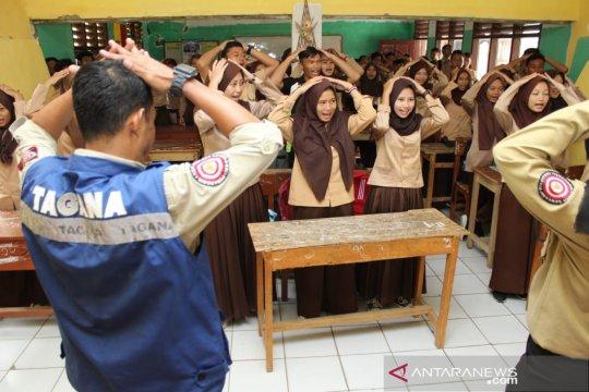 Tagana Masuk Sekolah siapkan generasi sadar bencana sejak dini