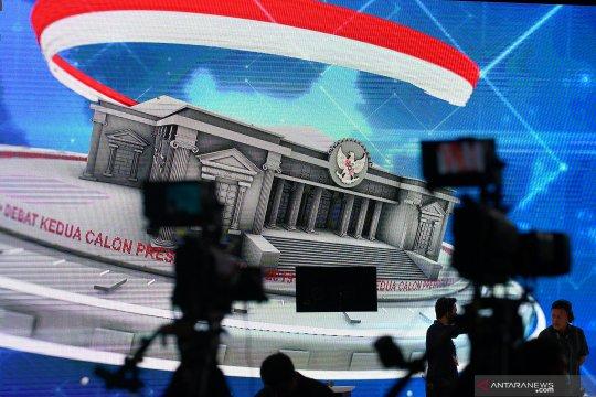 """BPN Prabowo-Sandi menggelar """"nobar"""" debat capres"""
